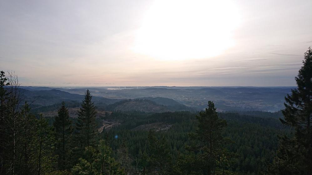 Flott utsikt fra Alsgården