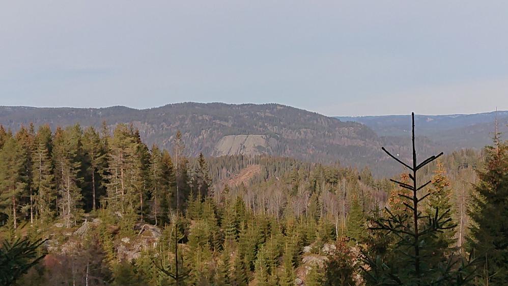 Utsikt mot Skriua i Opdalen