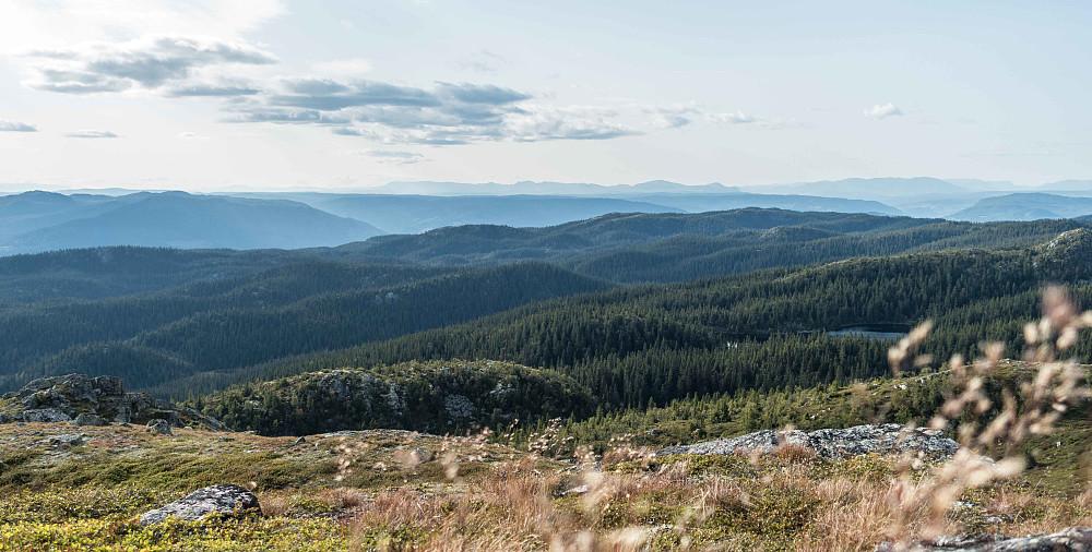 Utsikt mot Hemsedalsfjella