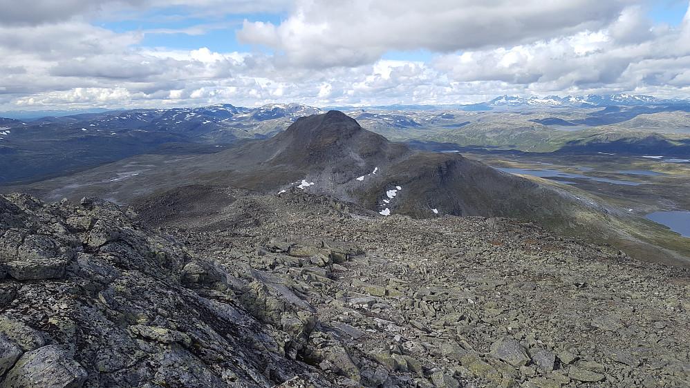 Utsikt fra Sulefjell mot Suletinden