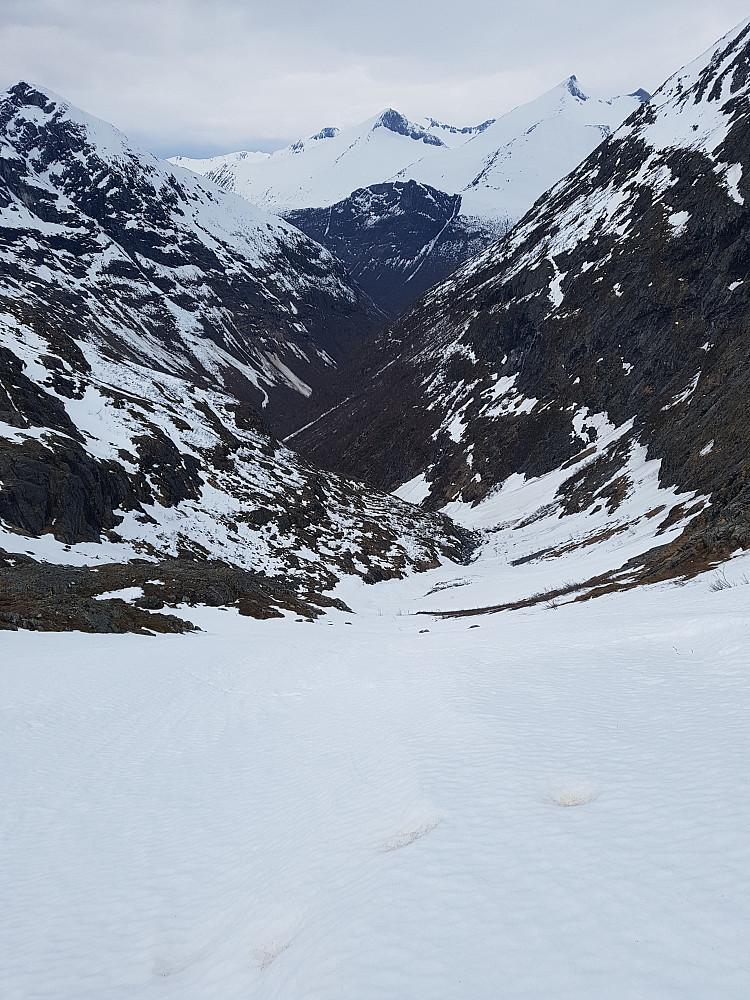Nedkjøringa ned Loftdalen