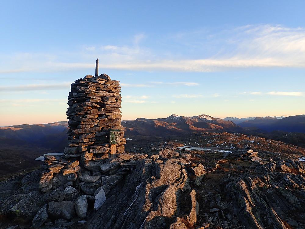 På Blåfjellet med utsikt østover.