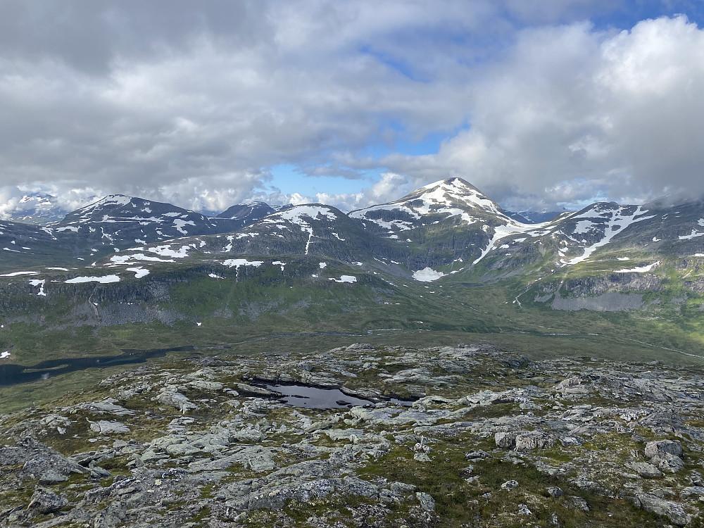 Fra Vassdalsfjellet mot Rognnebba mm