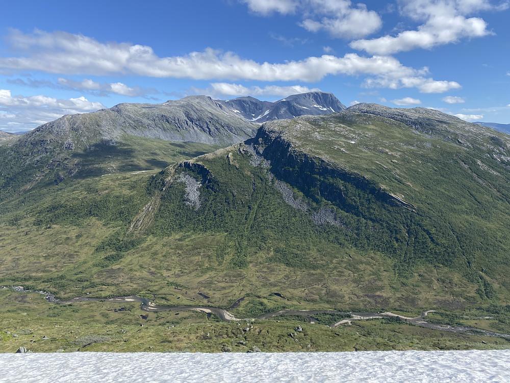 Fagerlidalen, Vassdalsfjellet og Snota
