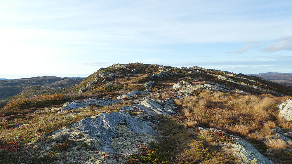 Toppvarden ligger der borte til venstre.