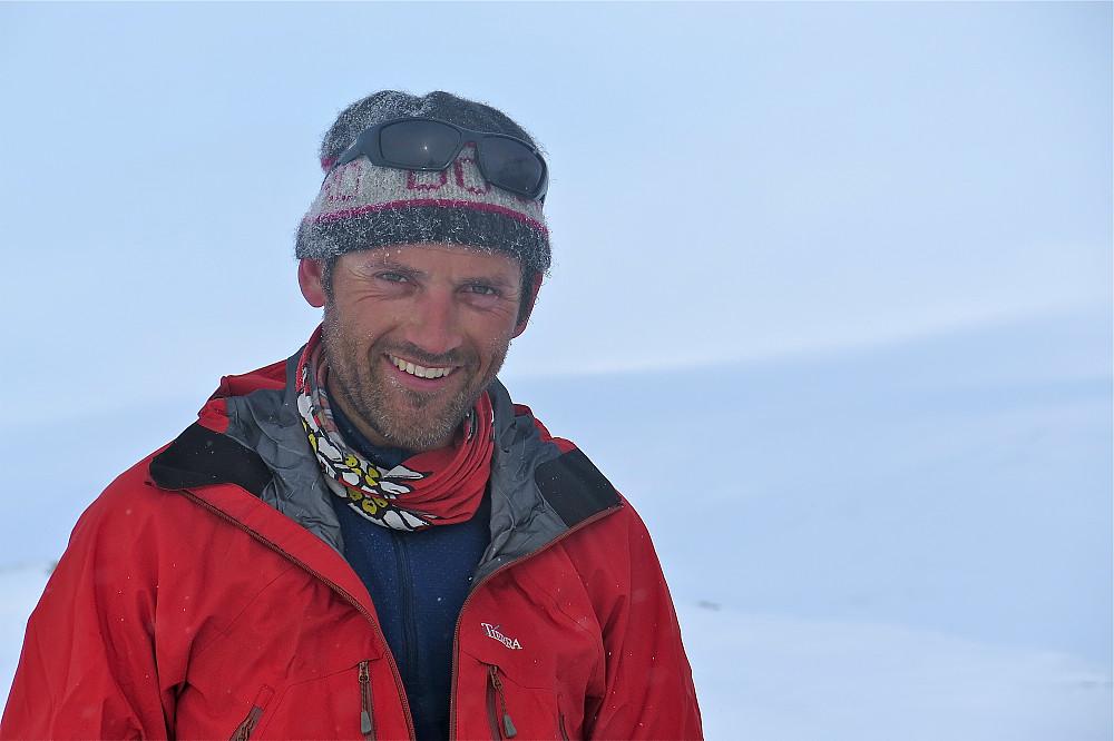 Geir Arne i toppform på Søverhøi.