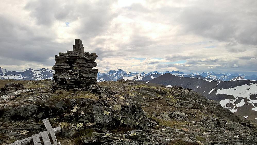 Toppvarden på Dølmørhaugen.