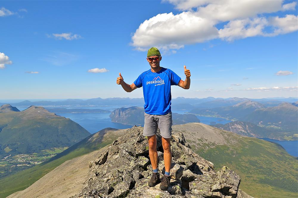Fantastisk dag på Skjervan 1545 moh.