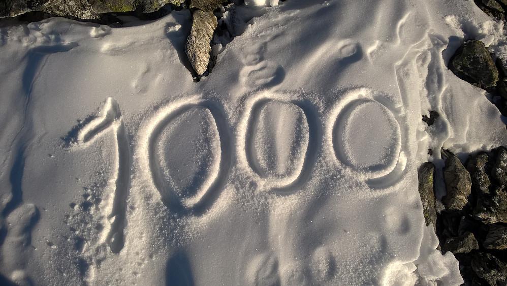 Topp nr 1000 i Møre og Romsdal. Då er det berre resten igjen.