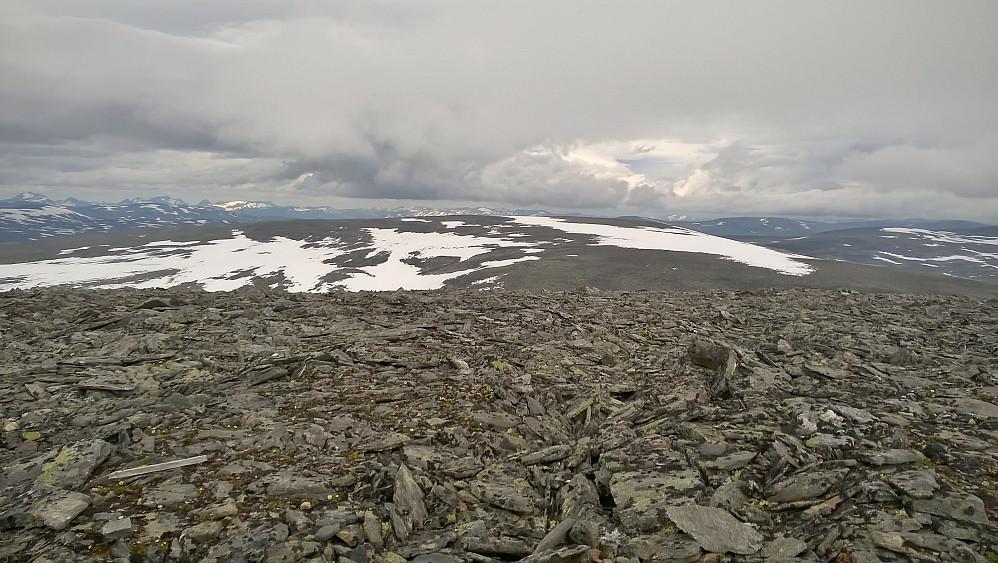 Nord mot Søre Svarthåmåren frå Geitåhøi