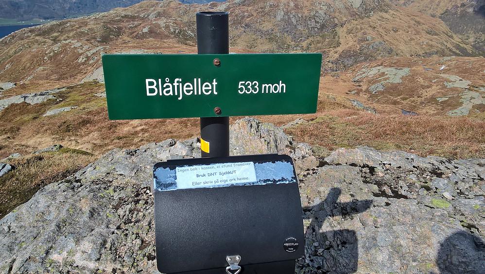 Blåfjellet, høgste topp på Askvoll sin 7-fjellstur