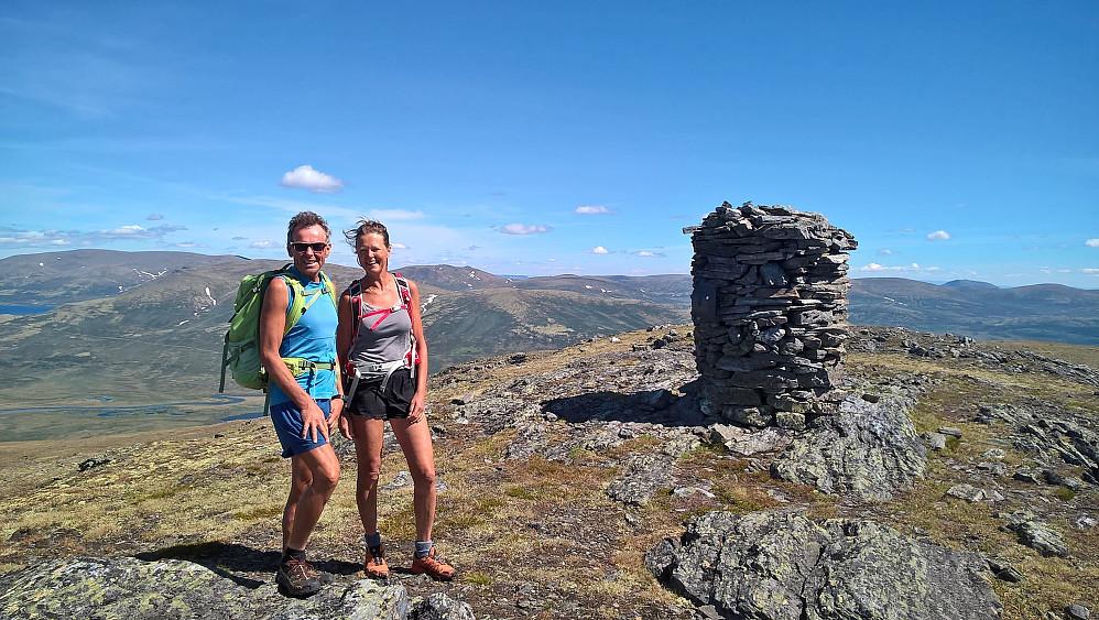 Ellen og Johan på Langhøa