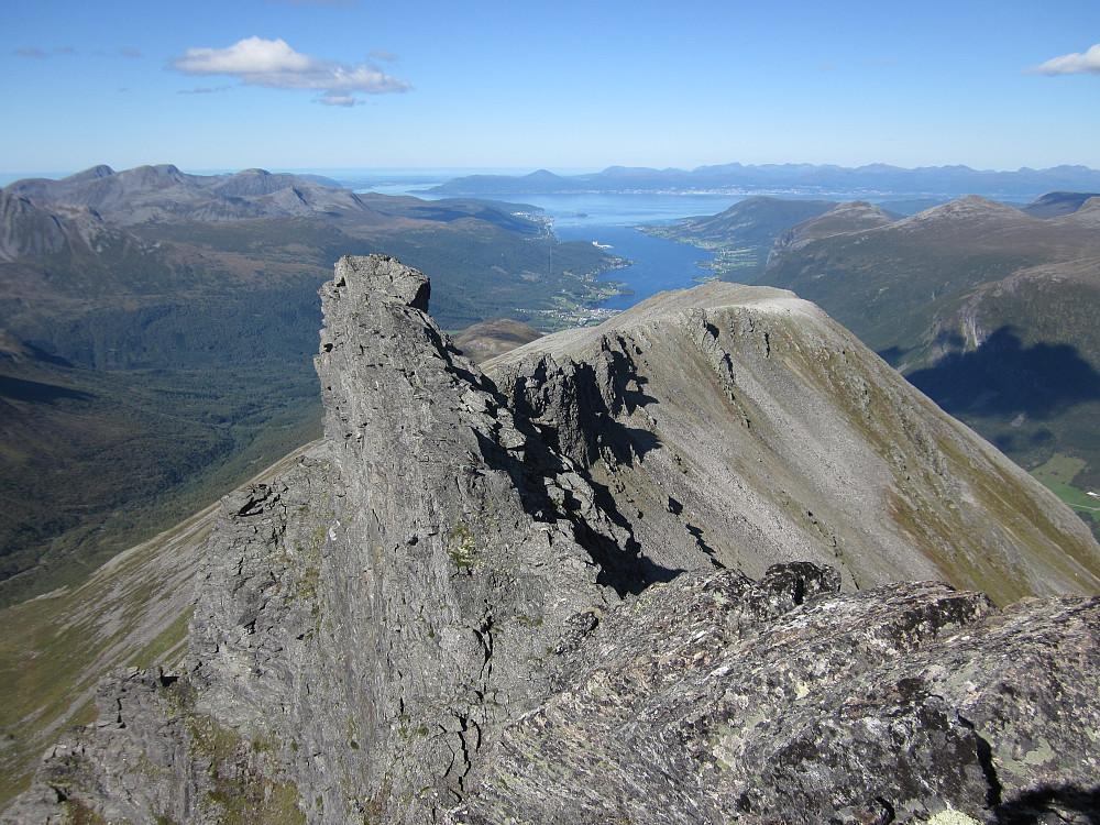 Frå Brudefølget mot Tresfjord og Molde