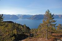 Sognefjorden, på vei til Fløyen