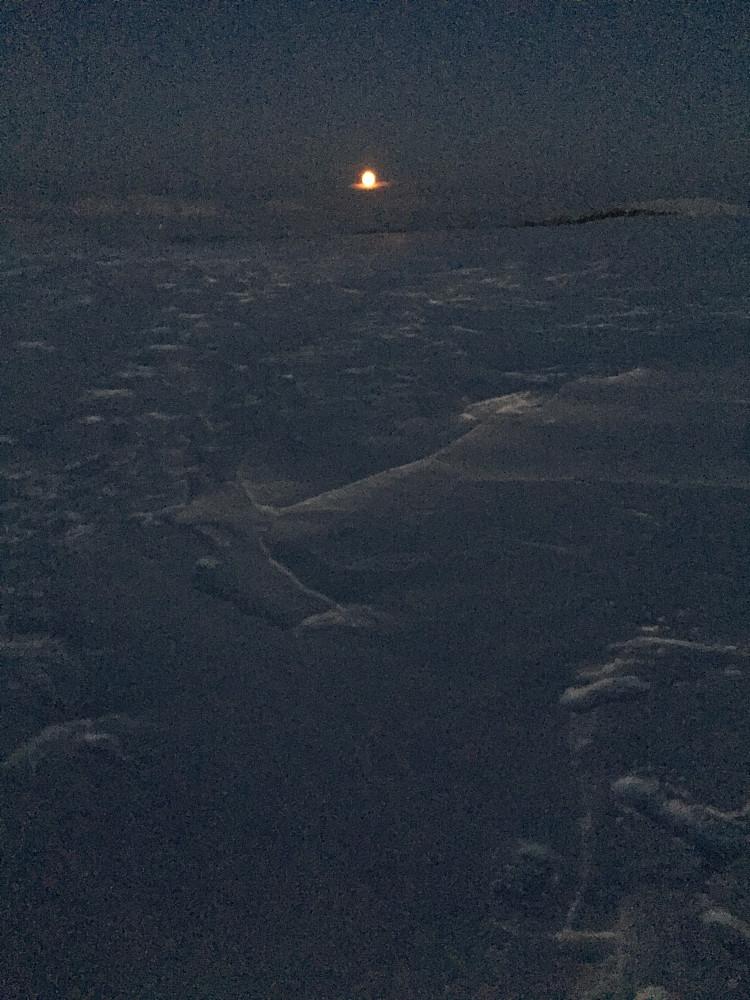 Fullmånen dukker opp...