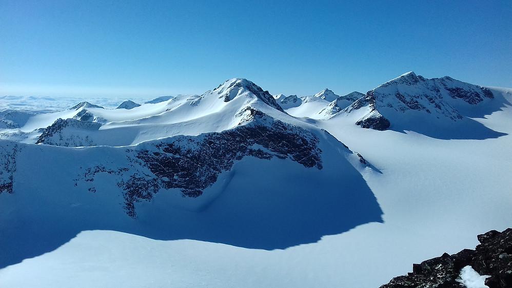 Renhet på alpint arktisk jotun-vis...