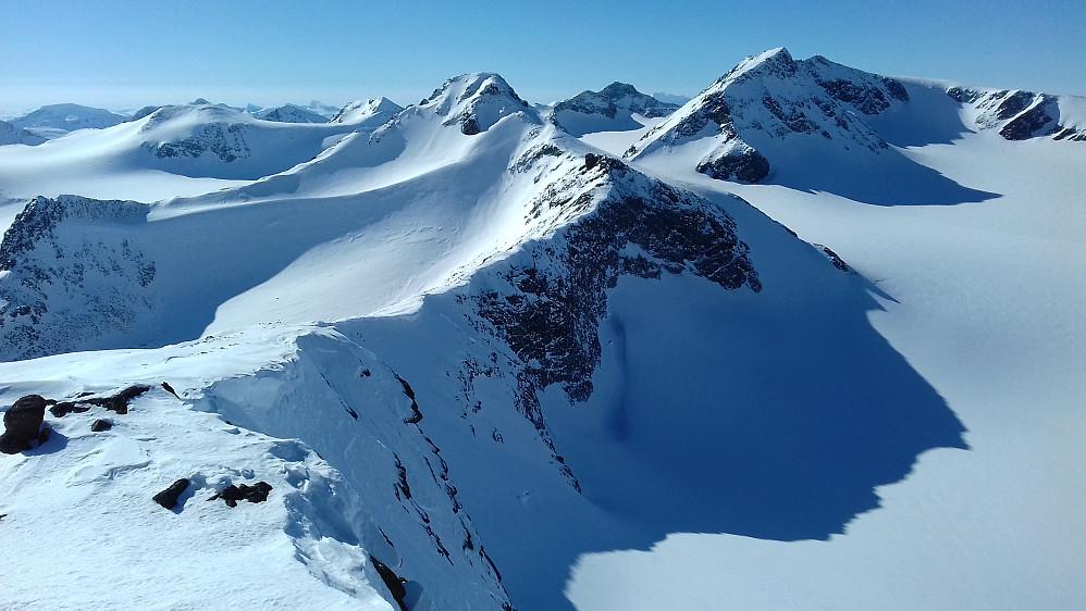 Bedre utsikt på Store til tross: Dette bildet fra Søre er en av de virkelige klassikerne fra turen!