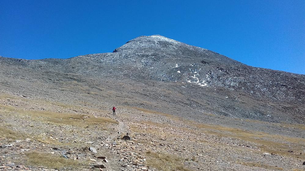 Det mest norsk fjellheim-like bildet tatt på hele reisen...