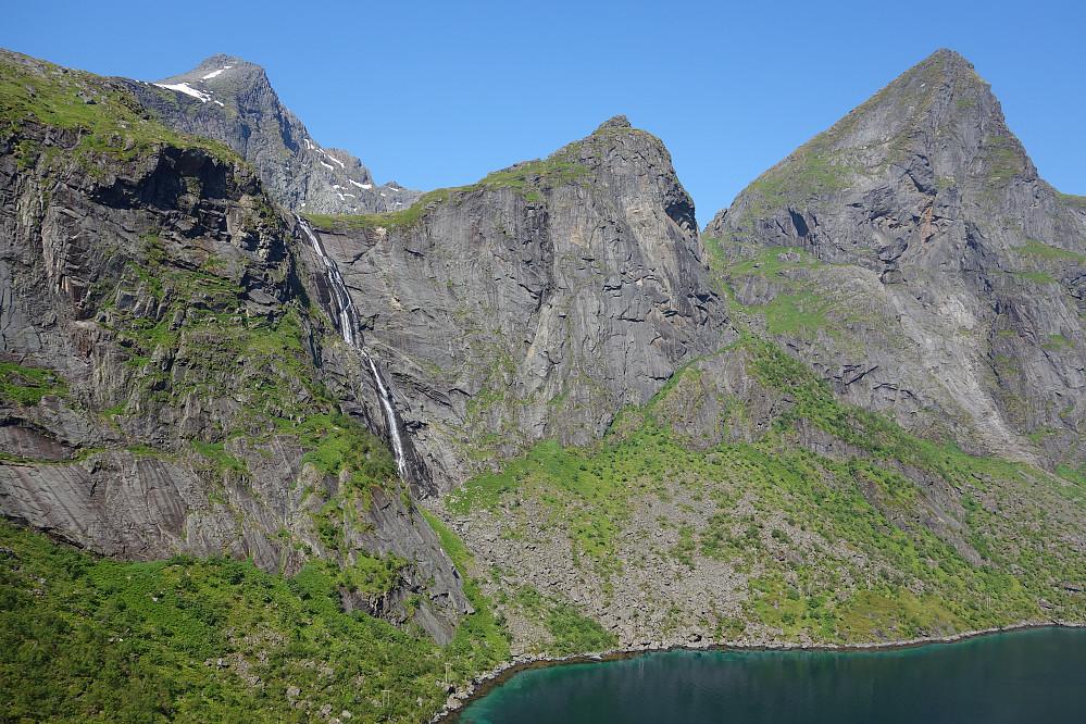 Fra starten ved Forsfjorden. Litt av Stølsmaradalen har blitt limt inn her.