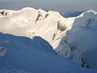 Kraterbløtkake! Dette synet var en fryd for øyet synes jeg! Sett fra Haakon VII Topp.
