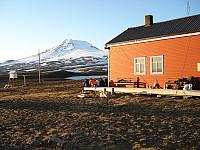 Idyll ved Gamlemetten. Sorgløst, akkurat som på Island etter Hvannadalshnukur.