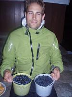 På hyttetrammen sommeren 2009, siste gang til nå hvor blåbærsesongen har vært bra hvor jeg har befunnet meg. Håper på flere sånne sesonger!