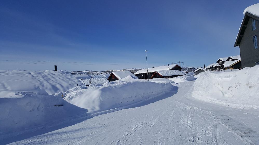 Parkerte i Skei Fjellandsby