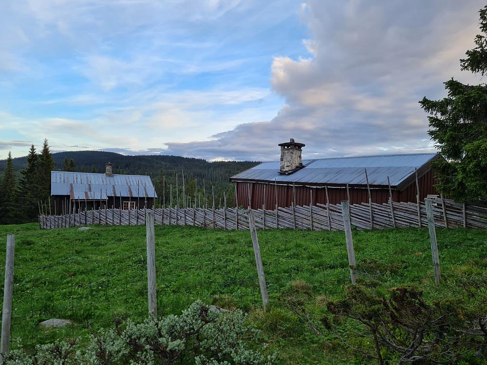 Vold seter mot Grøtåshaugen