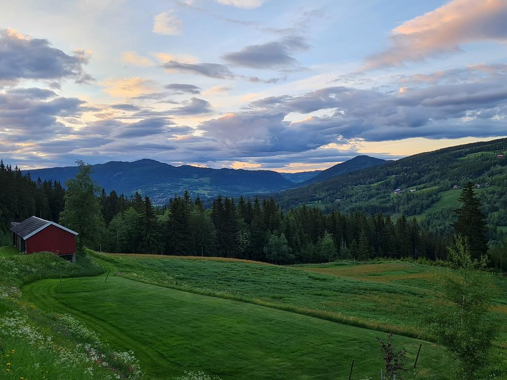 Utsikt fra Nygaard mit nord