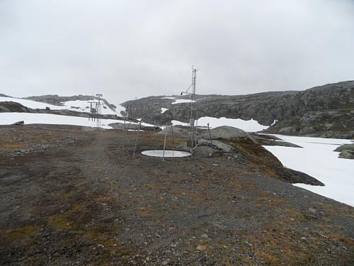 Målestsjon ved Beinlei 1065 moh.