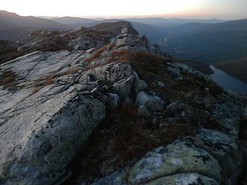 På Vassdalsfjellet med Vinddøldalen i bakgrunnen.