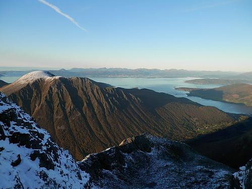 Utsikt utover Moldefjorden.