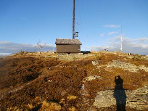 Masteanlegget på Løefjell.