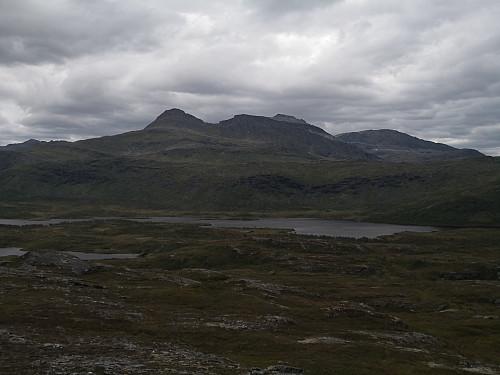Rismålstind frå Flatfjellet