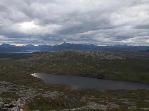 Brattfjellet frå Søre Nordfjellkjølen