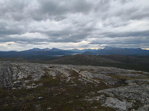 Frå Nordfjellkjølen mot Hinnøya