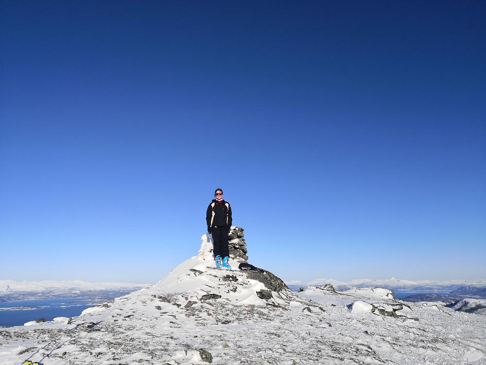 På toppen av Bergsheia