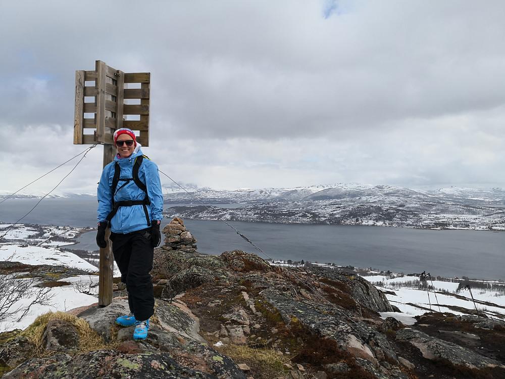 På Geita, i retning Kvaløya og Tromsø