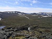 Ål-fjell frå Storebottnuten