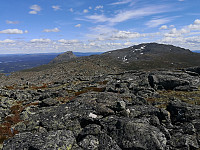 Storehorn og Såta frå Systerskardfjellet