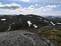 Systerskardfjellet frå Hamarskardtoppen