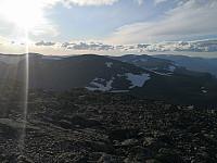Nordover mot Veslebotnskarvet frå Skogshorn