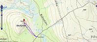 Tur 1: Veslfjellet. 2,4 km - 95 hm - 55 min