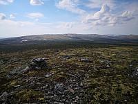 På Veslfjell mot Storhøa og Buhøgda