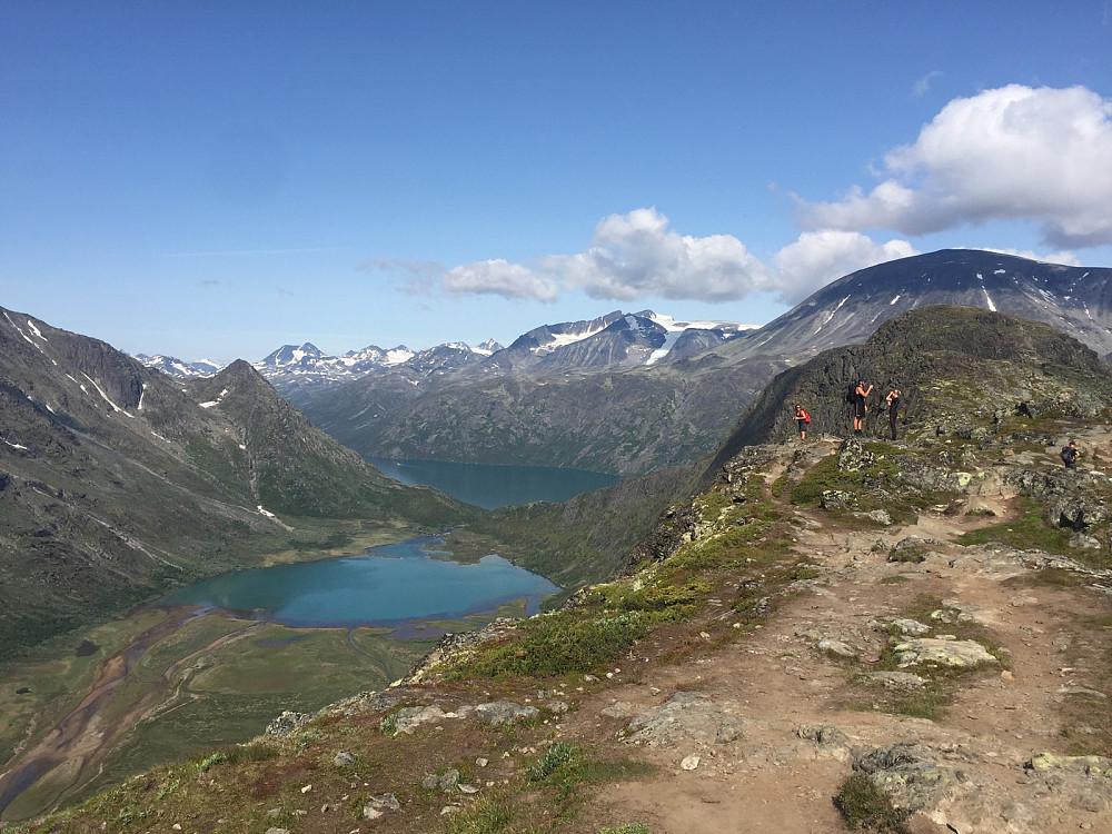 Flott dag i fjellet.