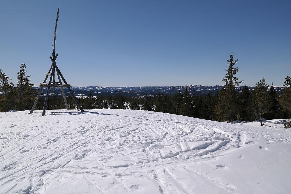 Trig.punktet på Fantefjell (700).