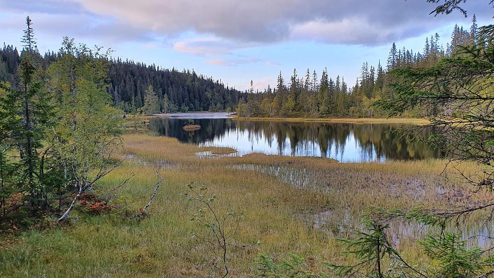 Sørenden på Store Bergsvatnet.