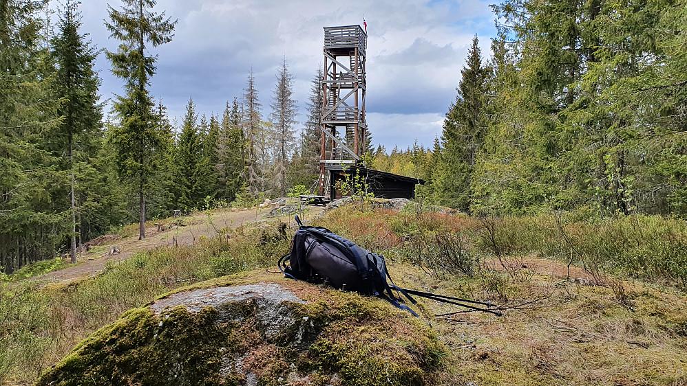 Godt tilrettelagt her på Hasleråsen (348).