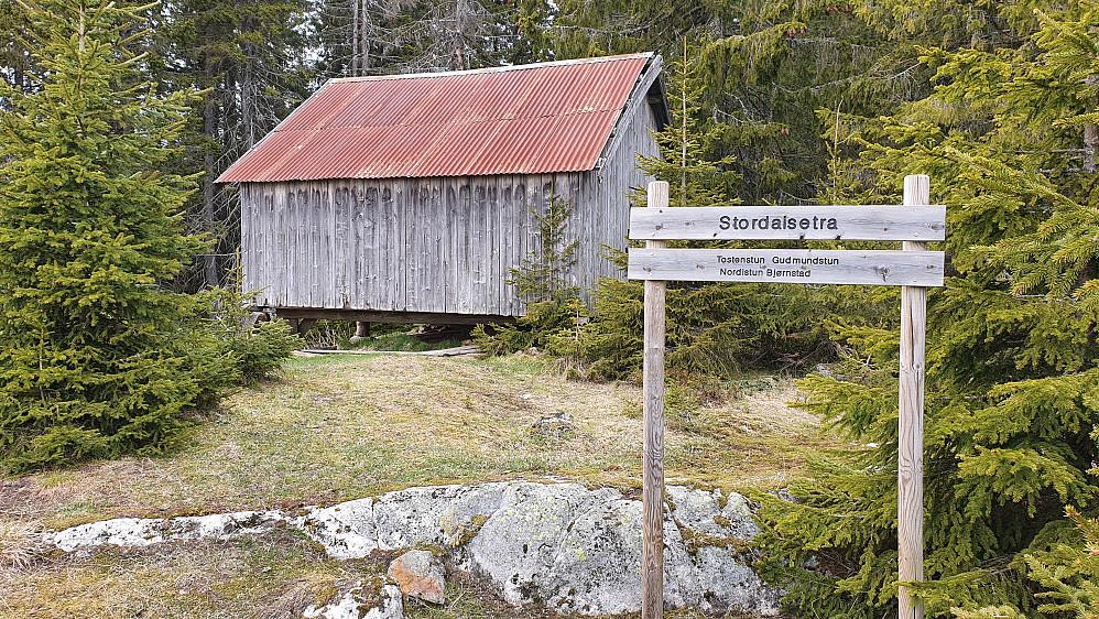 Uthuset på Stordalsetra.