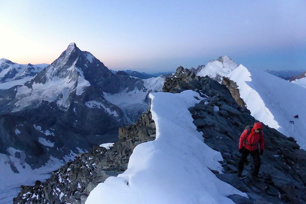 Matterhorn as the sun begins to rise
